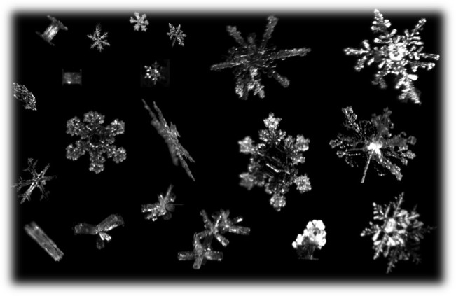 snowflake slide