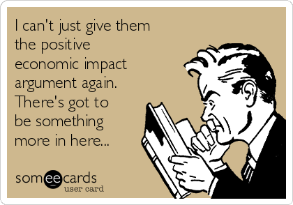 economic impact argument again eecard